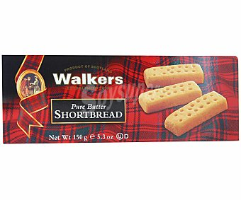 Walkers Galleta Shortbread Fingers Paquete 150 g