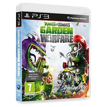 PS3 Videojuego Plants vs. Zombies Garden Warfare para PS3