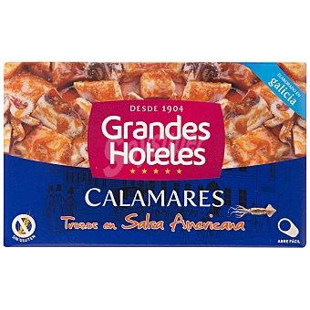 Grandes hoteles Calamares en salsa americana Lata 72 g