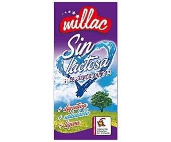 Millac Leche desnatada sin lactosa 1 litro