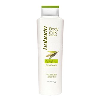 Babaria Body milk crema 500 ml