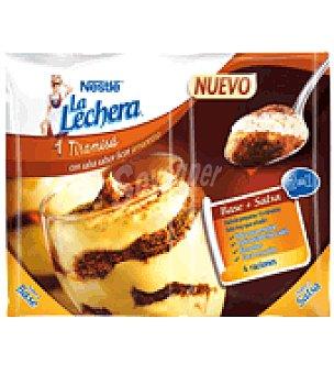 La Lechera Nestlé Preparado de Tiramisú con salsa sabor a licor Amaretto Nestlé 80 g
