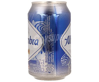 Alhambra Cerveza sin alcohol 33 centilitros