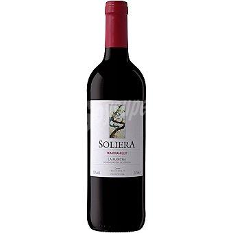 Soliera vino tinto tempranillo D.O. La Mancha botella 75 cl