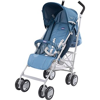 CHICCO London Silla de paseo compacta y manejable en color azul y gris