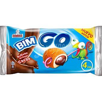 Bimbo Bimgo relleno de cacao  paquete 160 g