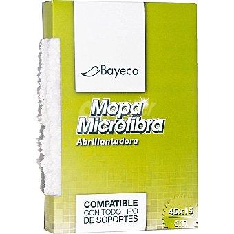 Bayeco Mopa microfibra abrillantadora 45x15 cm Caja 1 unidad