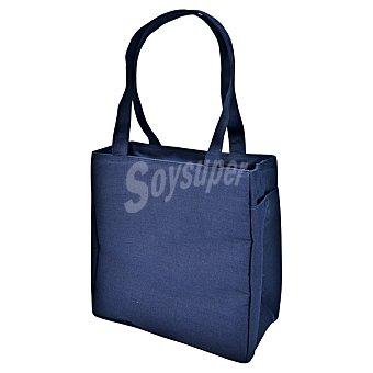 Iris Shopper Bolsa Porta alimentos en color azul 1 unidad