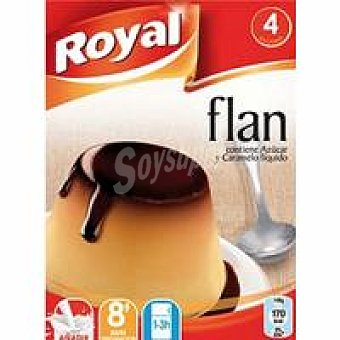 Royal Flan 4 unid