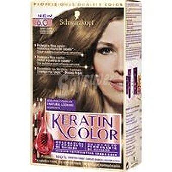 Keratin Color Schwarzkopf Tinte rubio oscuro N.6 Caja 1 unid