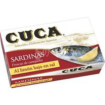 Cuca Sardina al limón Lata 125 g