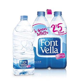 Font Vella Agua 4 botellas de 2,5 litros