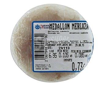 CONFREMAR Medallón de merluza 125 Gramos