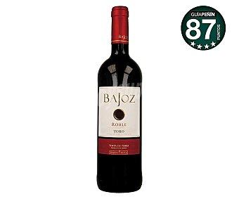 Bajoz Vino tinto roble con denominación de origen Toro Botella de 75 cl