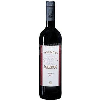 Heredad de Barros Vino D.O. Ribera del Guadiana tinto crianza 75 cl