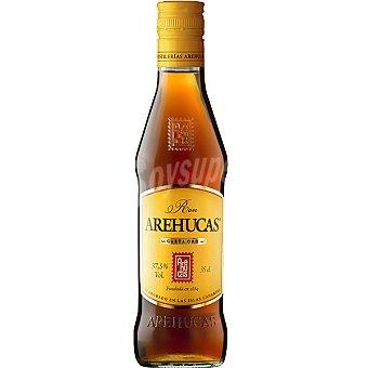 Arehucas ron carta oro  botella 35 cl