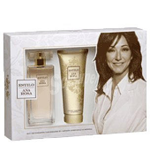 Ana Rosa Quintana Estuche Colonia Estilo spray 100ml + loción corporal luminosa 100ml. 1 ud