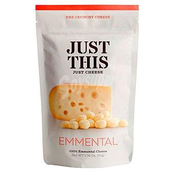 Just Snacks de queso emmental this Bolsa 50 g