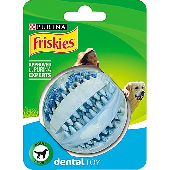 Friskies Purina Pelota para higiene dental Pack 1 unid