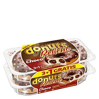 Donuts Berlinas rellenas de chocolate 3+1 ud