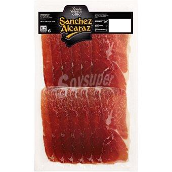 Sanchez Alcaraz Jamón de cebo ibérico en lonchas Sobre 150 g