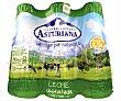 Leche desnatada UHT (tapón verde) botella pack 6 x 1,5 l - 9 l Central Lechera Asturiana