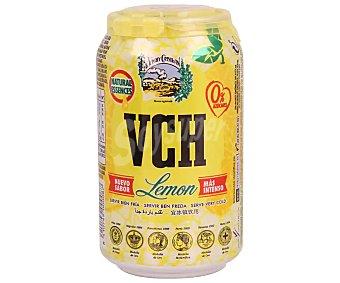 Vichy Catalán Agua mineral con gas sabor limón 33 centilitros