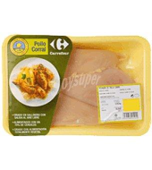 Calidad y Origen Carrefour Pechuga de pollo Bandeja de 550.0 g.