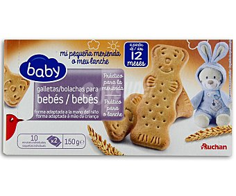 Baby Auchan Galleta Crecimiento (desde 12 Meses) 150g