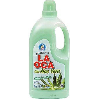 La Oca Detergente maquina liquido con aloe vera botella 3 l 33 dosis