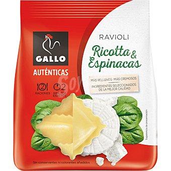 Gallo Ravioli rellena de ricotta y espinacas Envase 250 g