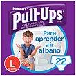 calzoncillo de aprendizaje para niño talla 6 16-23 kg  bolsa 22 unidades Pull-Ups Huggies