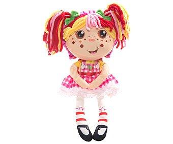 Cife Muñeca de peluche Flip Zee Girls, se tranforma de bebá niño, 52cm., 4 modelos, cife