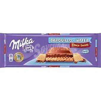 Milka Choco barquillo de crema de avellana Tableta 300 g