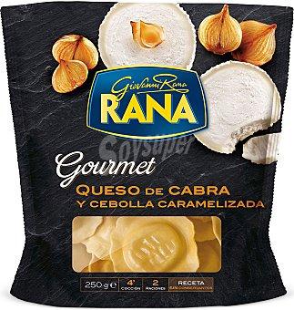 Rana Girasoles gourmet con queso de cabra 250 g