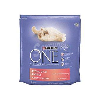 One Purina Comida para Gatos Sensitive con Pollo 1,5 kg
