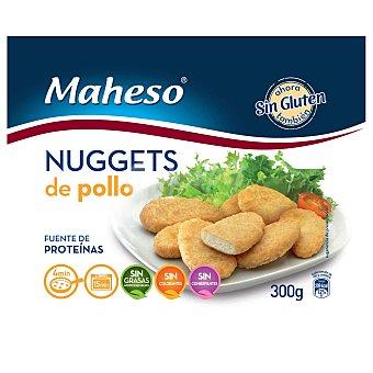 Maheso Nuggets de pollo sin gluten 300 g