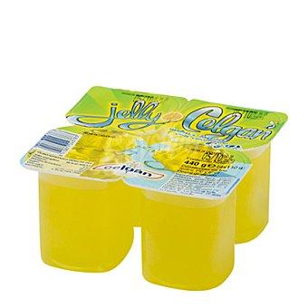 Celgan Gelatina sabor limón Pack de 4x125 g