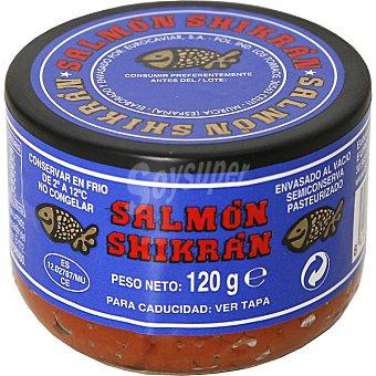 Eurocaviar Salmón Shikrán Sucedáneo de Huevas Salmón Tarrina 120 g