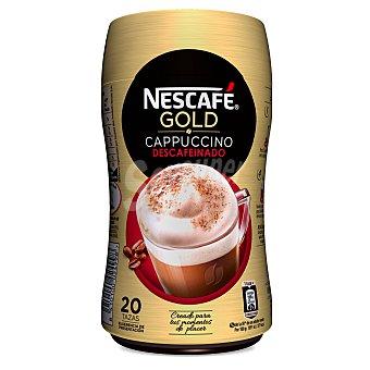 Nescafé Café cappuccino descafeinado Bote de 250 gr