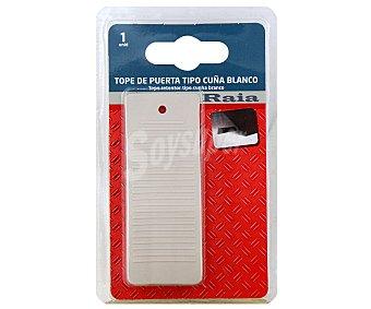 RAIA Tope Retenedor tipo Cuna de Color Blanco 1 Unidad