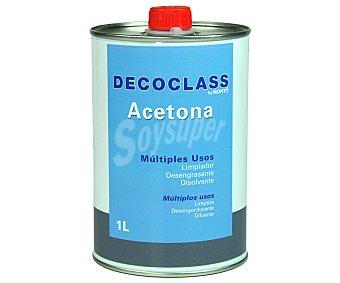 DECOCLASS Lata de acetona 1 Litro