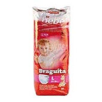 Eroski Bragapañal 13-18 kg Talla 5 Tu Bebé Paquete 40 unid