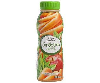 SMOOTHIE Bebida a base de zanahoria triturada con manzana y té verde 250 mililitros