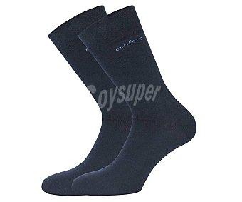 33 thirty three Pack de 2 pares de calcetines medicinales color azul marino, talla 39/42