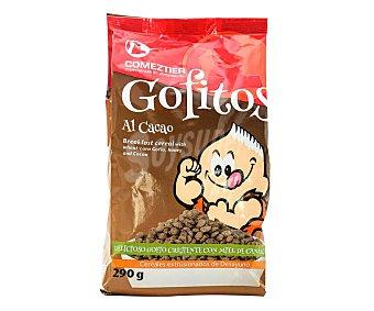Comeztier Cereales de gofio al cacao con miel Gofitos 290 g