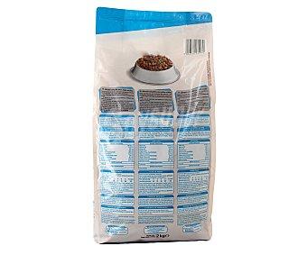 Auchan Comida seca para gatos adultos, multicroc de salmón 2 kg