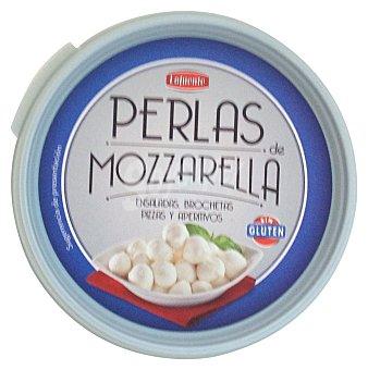 Hacendado Queso mozzarella fresca perlas Tarrina 150 g