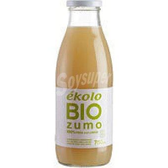 Ékolo Zumo de Pera y Limón Ecológico Botella 750 ml