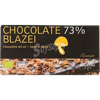 HIFAS DA TERRA Chocolate con champiñón sin azúcares añadidos ecológico Envase 100 g